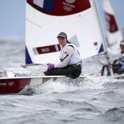 Tuula Tenkanen kiri mitalilähdössä ja sijoittui Rion tavoin viidenneksi – Kaarle Tapper olympiaregatan 9:s