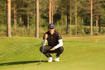 Levi Golfin Juho Kurula taituroi itsensä Pohjois-Suomen mestariksi