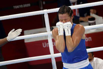 Mira Potkoselle olympiapronssia – tie nousi pystyyn välierissä, Brasilia Beatriz Ferreira nyrkkeili finaaliin