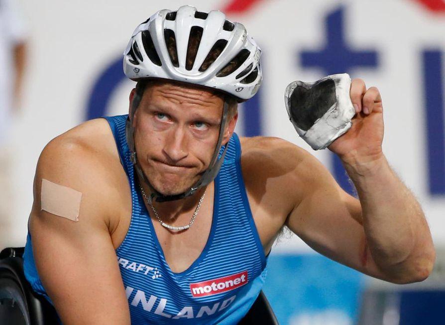 Leo-Pekka Tähti voitti MM-kultaa Dohassa.