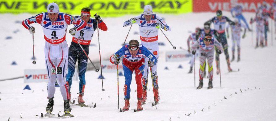 Petter Northugin loppukiri oli omaa luokkaansa miesten päätösmatkalla Falunin MM-kisoissa.