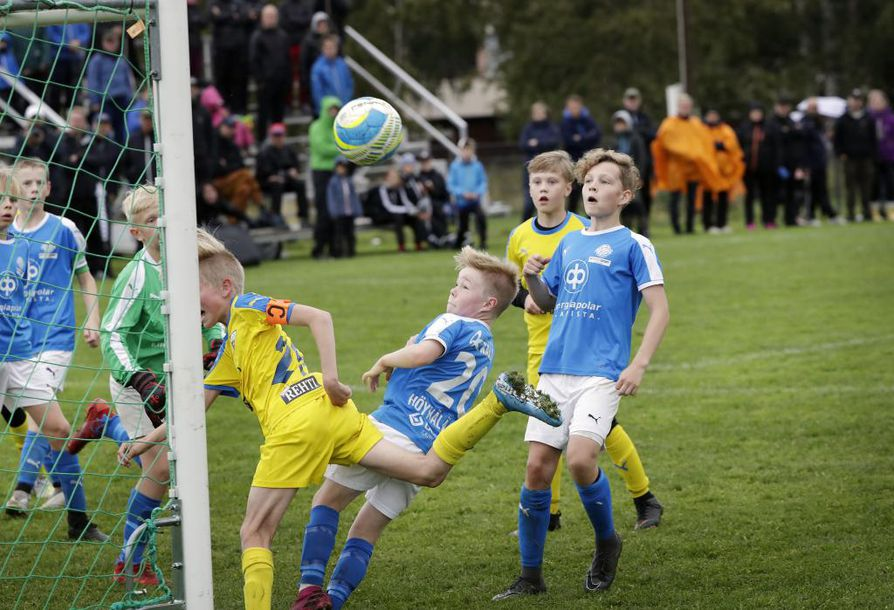 Juhlaturnauksen finaalissa OLS/Sininen voitti RoPS:n.