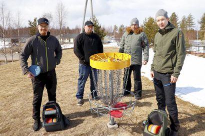 Pudasjärven valtuustolle tehtiin valtuustoaloite Jyrkkäkosken frisbeegolfradan 10 000 euron rahoituksesta