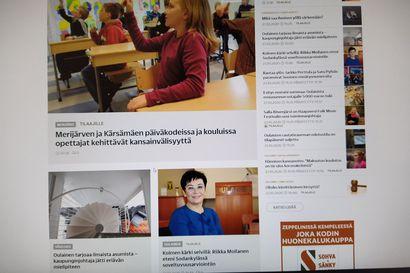 Pyhäjokiseudun verkkosivusto on uudistunut