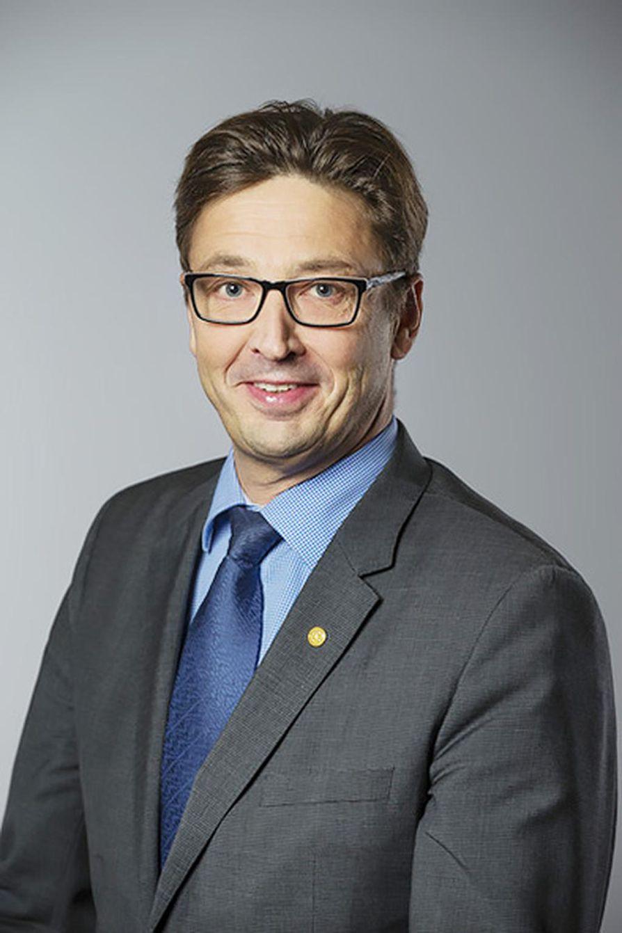 Jouko Niinimäki Oulun yliopiston rehtori