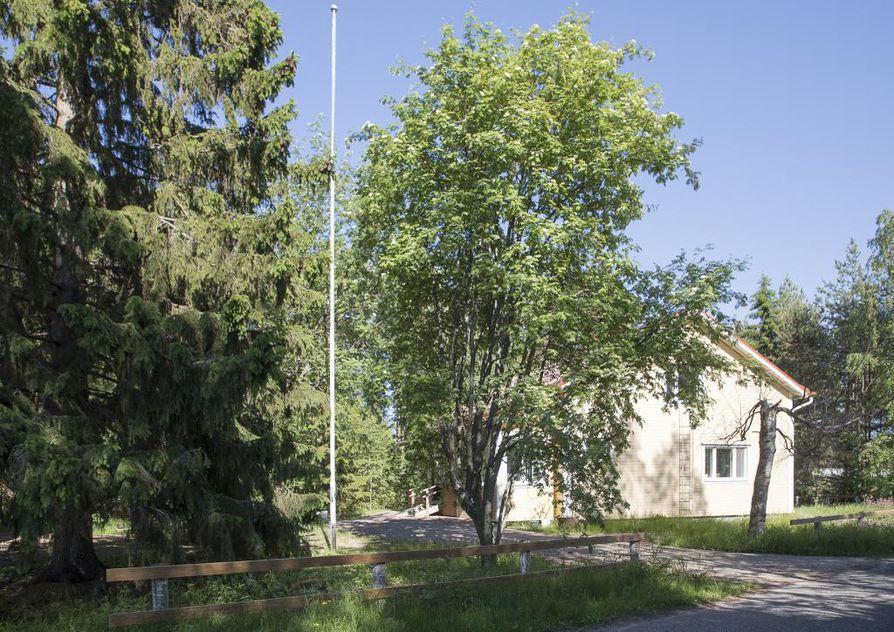 Esa Aallon perhe osti yhdeksän vuotta sitten 1960-luvulla rakennetun talon reilun 2000 neliömetrin tontilla, josta osa on metsää.