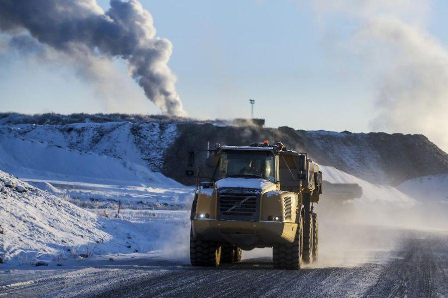 Pohjois-Suomessa on paljon kaivoksia.