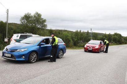 Rajavalvonta palautettiin Norjan maarajalle maanantaina – Suomalaiset saavat ylittää rajan, mutta palatessa kaikki Norjasta tulevat pysäytetään rajalla ja tarkistetaan
