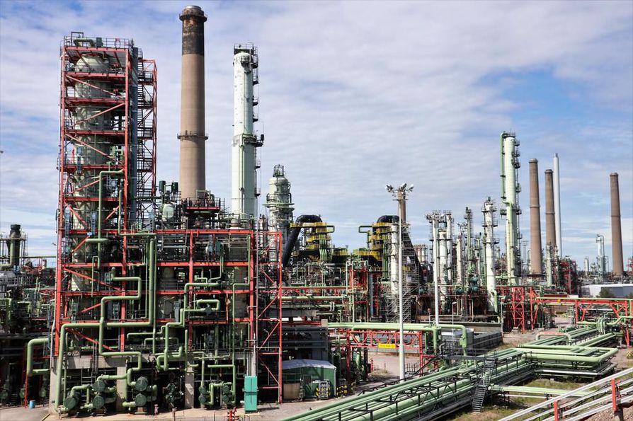 Porvoossa on kaksi uusiutuvan dieselin tuotantolaitosta.