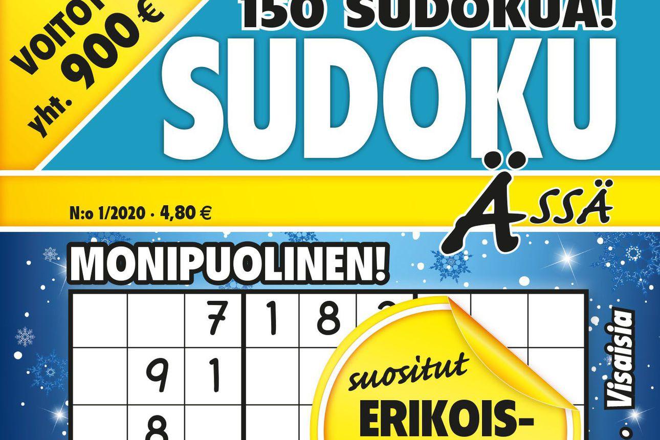 Sudokulehtien ehdoton ykkönen!