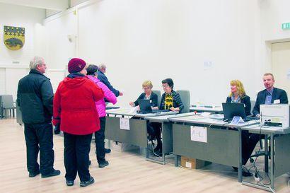 Pudasjärven vaalituloksen koonti puolueittain – keskusta ja vihreät selvään voittoon, perussuomalaisille iso tappio