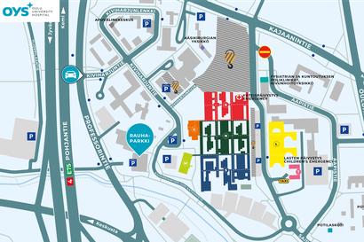 OYSin uusi 800 paikkainen pysäköintitalo avataan ensi maanantaina, pysäköinti ilmaista lokakuun ajan