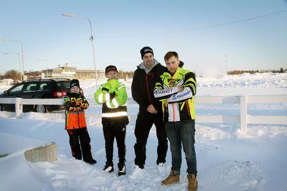 Laivakankaan raviradalla kisataan snowcrossin kolmas SM-osakilpailu -paikalliselle PCMK:lle voi odottaa menestystä