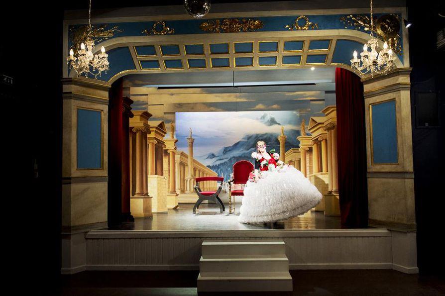 Teatterimuseon näyttämöllä jokainen voi olla oman elämänsä supertähti.