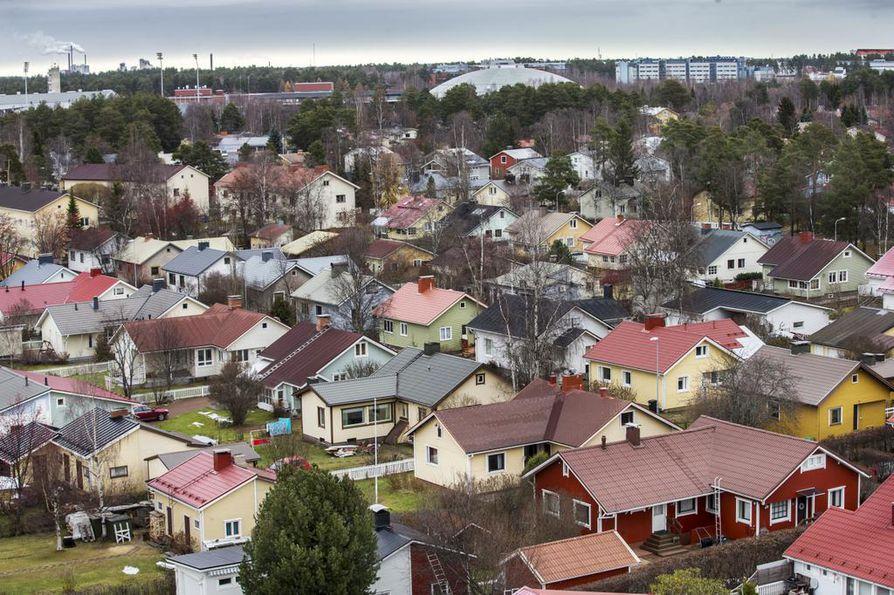 Kiinteistövero nousee Oulussa kovaa vauhtia.