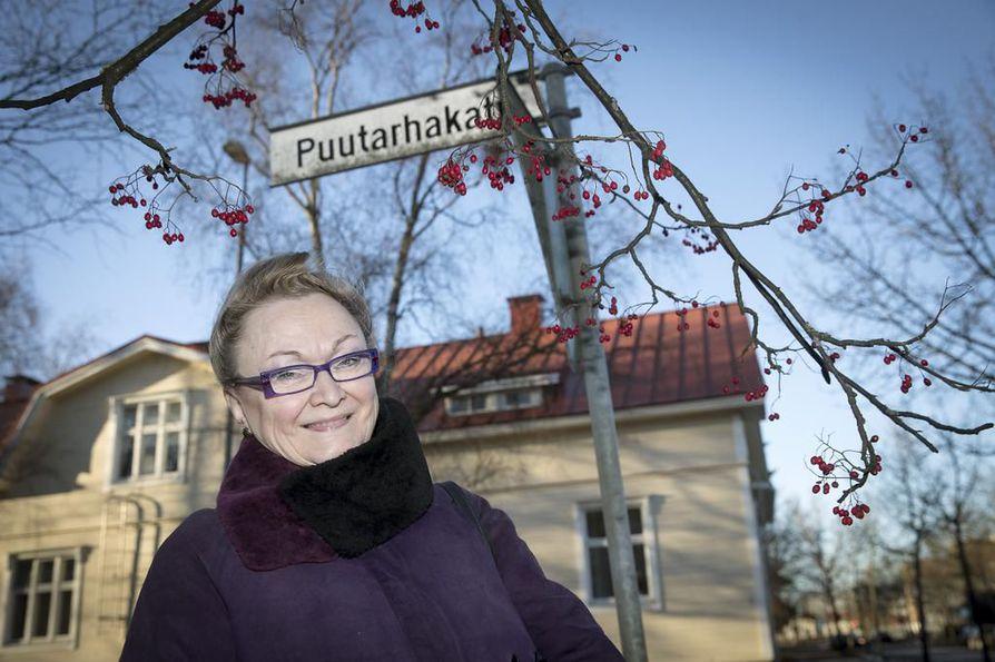 Kaisu Mikkola teki pitkän uran Kalevan kulttuuritoimituksessa.