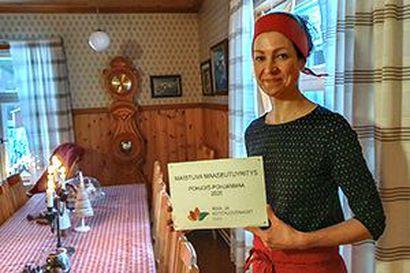 Törmälän tila on Maistuva Maaseutuyritys 2020 Pohjois-Pohjanmaalla