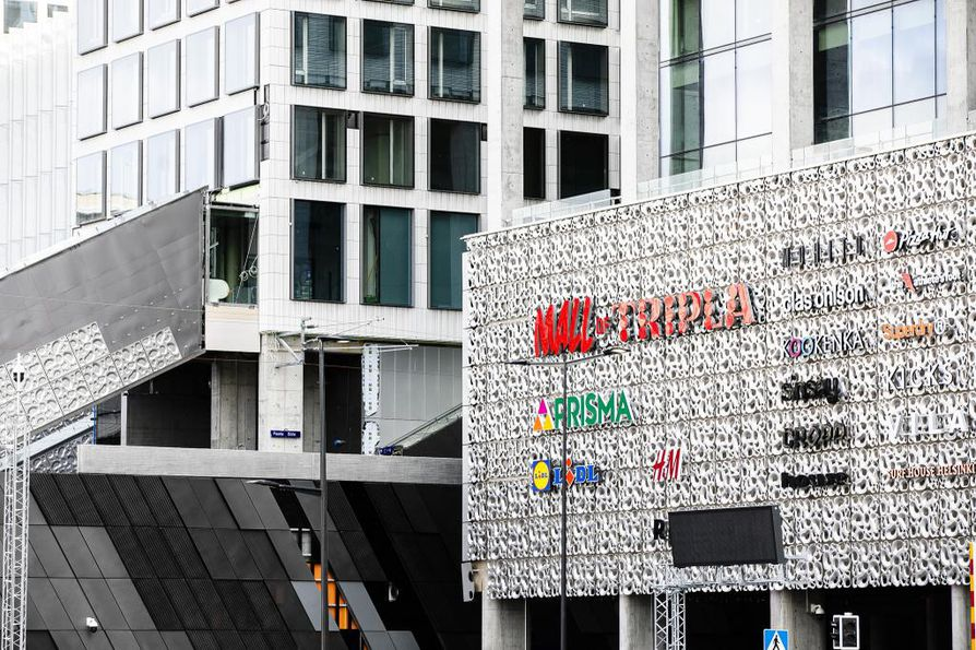 Mall of Tripla avautuu yleisölle ensi viikon torstaina.