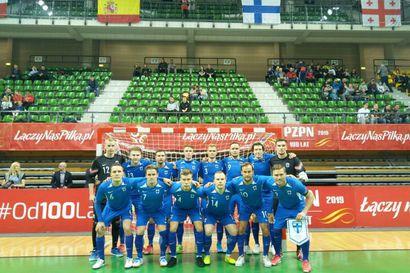 Futsalmiehet venyivät tärkeään MM-karsintavoittoon Puolasta