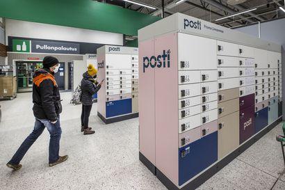 Pakettiautomaatti on nyt suosittu vehje – asiakkaiden kannattaisi noutaa pakettinsa nopeasti