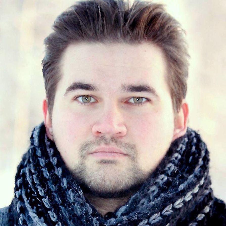 Jyri Paretskoi on kirjailija Iisalmesta.