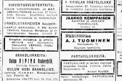Vanha Kaleva: Kuusamossa syntynyt Oskar J. Larson ehdolla Yhdysvaltain kongressiin