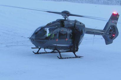 Helikopteri pakkasessa