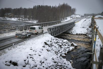 Kiiminkijoen silta odottaa päällysteasemien avautumista – projekti valmistuu vasta kuukausien päästä