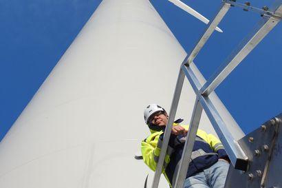 Suomen suurin tuulipuisto verkkoon ensi kuussa – Pyhännän ja Kajaanin rajalle nousee 41 voimalaa, joiden nimellisteho vastaa viittä Merikosken vesivoimalaa
