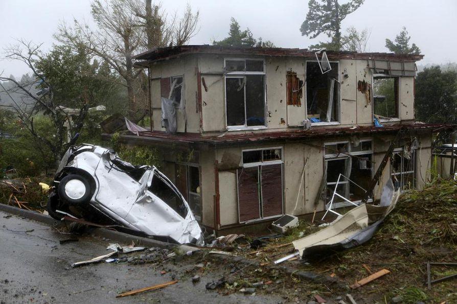 Taifuuni Hagibis on tuhoisin hirmumyrsky Tokiossa yli 60 vuoteen.