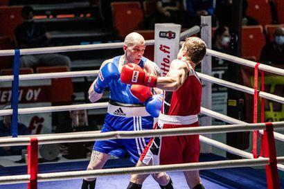 Viisi lappilaista tositoimissa SM-nyrkkeilyjen toisena päivänä