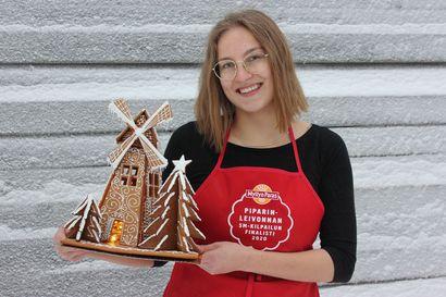 Rovaniemeläisen leipuri-kondiittoriopiskelijan siivekäs taidonnäyte toi piparinleivonnan SM-kultaa