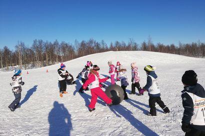 Kuusamon Erä-Veikot järjestää lumipäiviä alakouluille