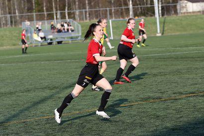 Kauden avauksesta selvä tappio FC Raahen naisille