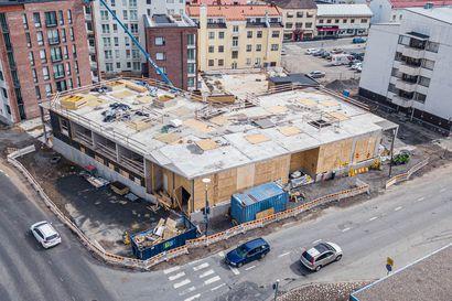"""Lehto keskeytti rakennustyöt kymppikorttelissa – """"Markkinatilanne Rovaniemellä on haastava"""""""