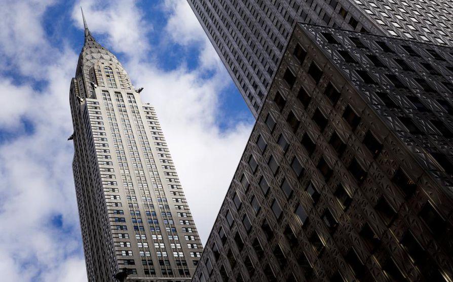 New Yorkin Manhattanilla sijaitseva Chrysler Building oli hetken aikaan maailman korkein rakennus.