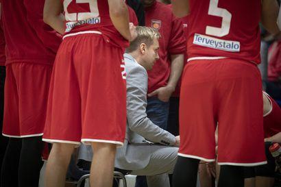 Oulu Basketballin joukkueessa koronavirustartunta – ensi sunnuntain ottelu siirtyy