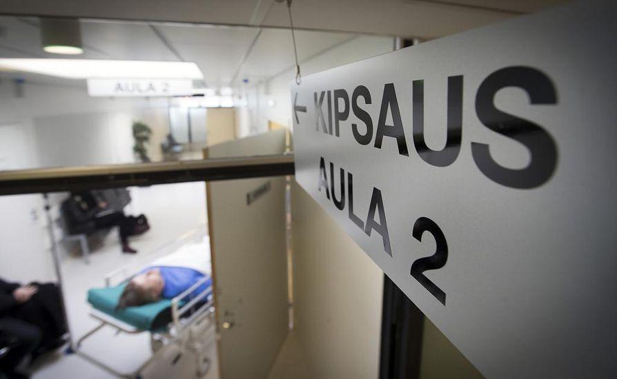 50 vuotta vanhojen sairaalakiinteistöjen kunto on huono.