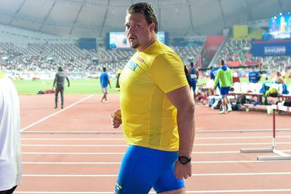 Daniel Ståhl johdattaa Ruotsin Tampereelle, mukana myös olympiavoittajan poika