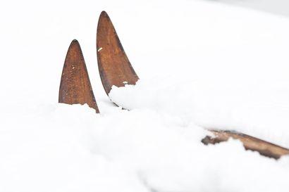 Hiihtovaltikka syrjäkylälle – näin sitä hiihdettiin Pudasjärvellä 1960-luvulla