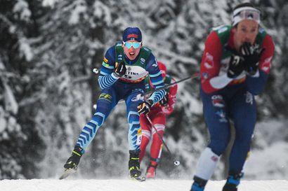 Suomen maastohiihtomaajoukkue ei kilpaile joulukuun maailmancupeissa