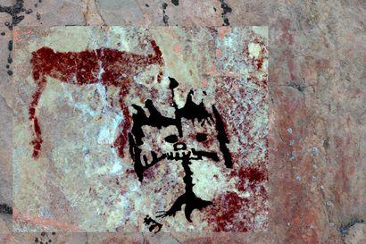 Hossan Värikalliolta löydetty ennennäkemättömiä kalliomaalauksia – lääkäri sai oivalluksen niiden kuvaamisesta katsoessaan ihmisten silmänpohjien verisuonia