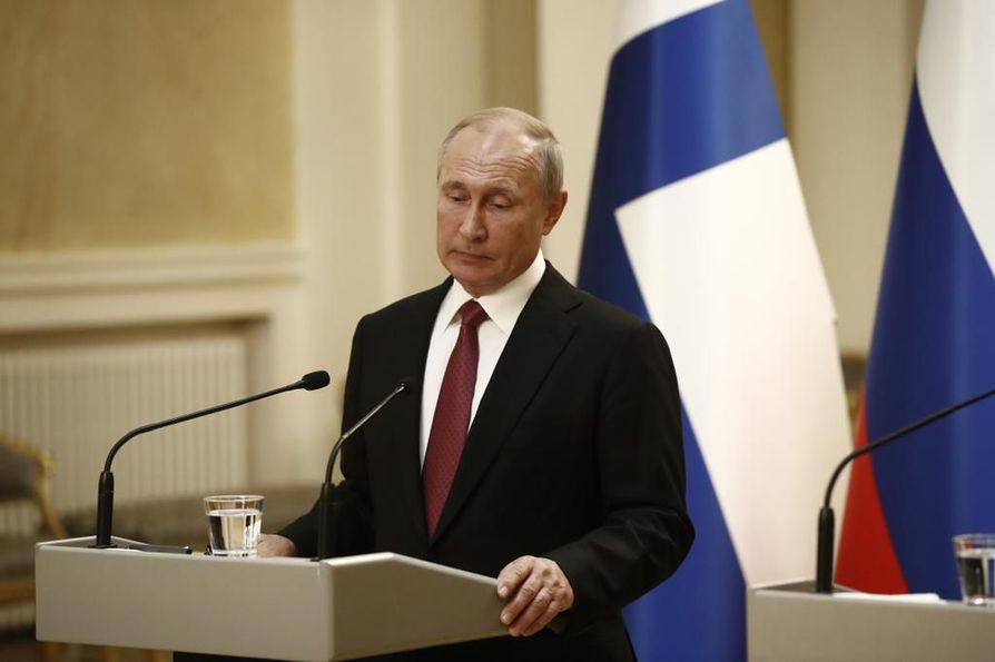 Vladimir Putinin mukaan räjähdysonnettomuus liittyi asejärjestelmän kehittämiseen.