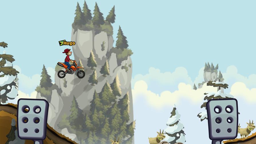 Fingersoftin Hill Climb Racing 2 -peli julkaistiin viime vuoden lopulla