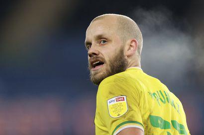 Teemu Pukki täydensi maalikarkelonsa hattutempuksi – valioliiganousua varmisteleva Norwich murskasi Huddersfieldin 7–0