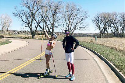 """Toni ja Riitta-Liisa Roponen elävät amerikkalaista unelmaa Denverissä – """"Saan keskittyä urheilijoihin ja heidän valmentamiseensa"""""""