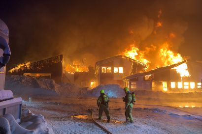 Tulipalo aiheutti Levin rinneyhtiölle ainakin 2,5 miljoonan euron vahingot, rakennus paloi kivijalkaan – hiihtokeskuksen toiminta jatkuu normaalisti