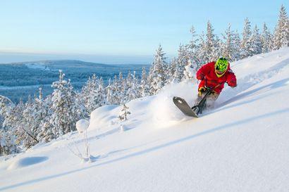 Lajin vapaus vei mennessään – Tomi Rajala vaihtoi moottorikelkan snowscootiin ja teki lajin ensimmäisiin kuuluvan elokuvan.
