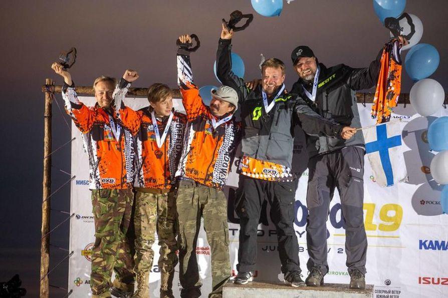 Wild Nordic Finland on noussut Ladoga Trophyn palkintokorokkeelle kolme kertaa. Tänä vuonna kaksikko sai ensimmäisen kultapokaalinsa.