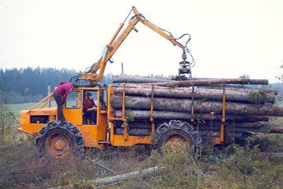 Einari Vidgrenin elämänpolku sai suuntansa kun pokasaha ja kirves vaihdettiin metsätöissä konevoimaan